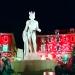 Apollon et les illuminations de Noël